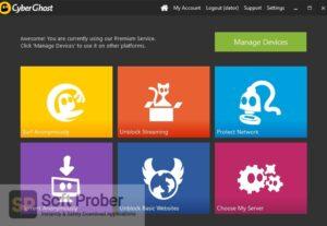 CyberGhost 2019 Free Download-Softprober.com