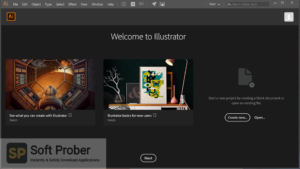 Adobe Illustrator CC 2020 Free Download-Softprober.com