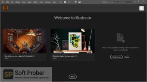 Adobe Illustrator CC 2020 Free Download-Softprober.com