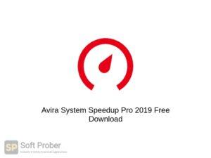 Avira System Speedup Pro 2019 Latest Version Download-Softprober.com