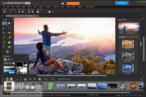 Corel PaintShop Pro 2020 + Addons Free Download-Softprober.com