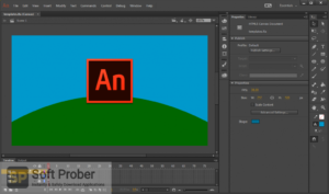 Adobe Animate CC 2020 Free Download-Softprober.com