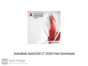 Autodesk AutoCAD LT 2020 Latest Version Download-Softprober.com