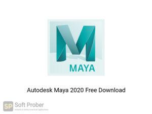 Autodesk Maya 2020 Latest Version Download-Softprober.com