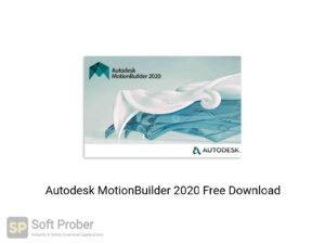 Autodesk MotionBuilder 2020 Latest Version Download-Softprober.com