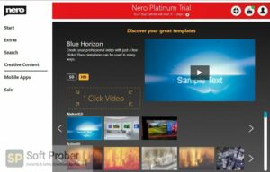 Nero Platinum 2020 Suite Free Download-Softprober.com