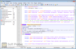 Notepad ++ 2019 Offline Installer Download-Softprober.com