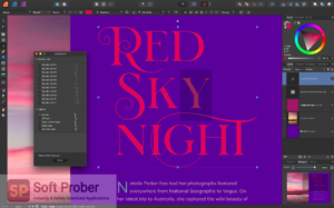 Serif Affinity Publisher 2019 Offline Installer Download-Softprober.com