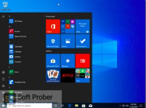 Windows 10 Pro incl Office 2019 Updated Nov 2019 Free Download-Softprober.com