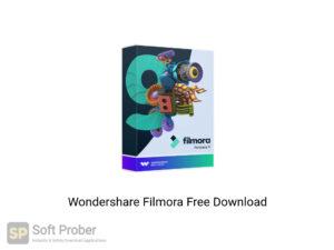 Wondershare Filmora Latest Version Download-Softprober.com