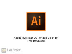 Adobe Illustrator CC Portable 32 64 Bit Offline Installer Download-Softprober.com