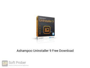 Ashampoo UnInstaller 9 Offline Installer Download-Softprober.com