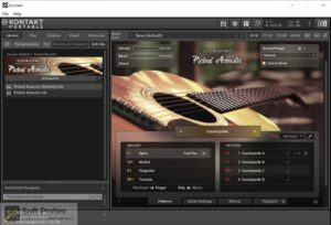 Native Instruments SESSION GUITARIST PICKED ACOUSTIC (KONTAKT) Free Download-Softprober.com