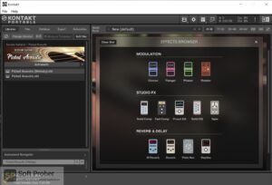 Native Instruments SESSION GUITARIST PICKED ACOUSTIC (KONTAKT) Latest Version Download-Softprober.com