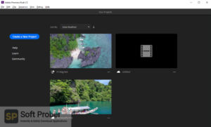 Adobe Premiere Rush CC 2020 Latest Version Download-Softprober.com