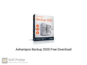 Ashampoo Backup 2020 Offline Installer Download-Softprober.com