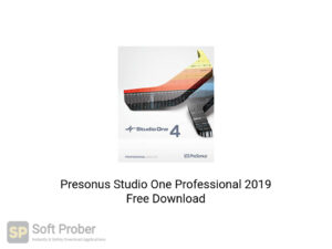 Presonus Studio One Professional 2019 Offline Installer Download-Softprober.com