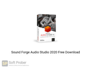 Sound Forge Audio Studio 2020 Offline Installer Download-Softprober.com
