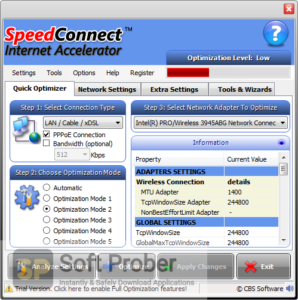SpeedConnect Internet Accelerator Direct Link Download-Softprober.com