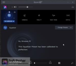 Boom 3D Free Download-Softprober.com