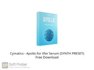 Cymatics Apollo for Xfer Serum (SYNTH PRESET) Offline Installer Download-Softprober.com