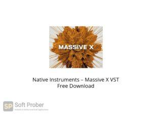 Native Instruments Massive X VST Offline Installer Download-Softprober.com