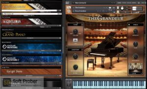 Native Instruments The Grandeur (KONTAKT) Free Download-Softprober.com