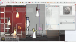V Ray Next Build 4.20.01 For SketchUp 2016 2020 Free Download-Softprober.com