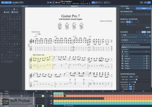 Guitar Pro 7 Offline Installer Download-Softprober.com