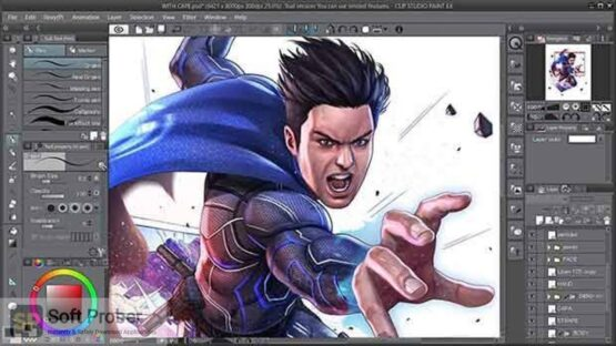 CLIP STUDIO PAINT EX Direct Link Download-Softprober.com