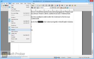 Corel WordPerfect Office Professional Free Download-Softprober.com