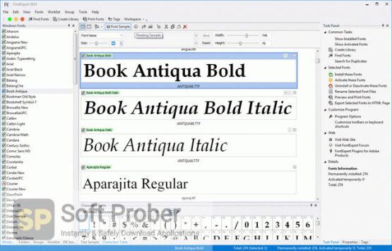 FontExpert 2020 Latest Version Download-Softprober.com