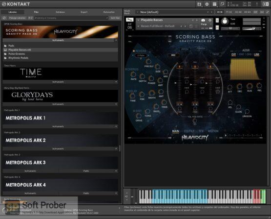 Heavyocity GP06 Scoring Bass 2020 Offline Installer Download-Softprober.com