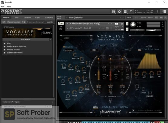 Heavyocity Vocalise Gravity Pack 2 Latest Version Download-Softprober.com