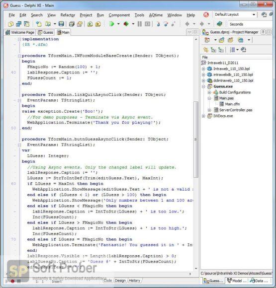 IntraWeb Ultimate Edition 15 Offline Installer Download-Softprober.com