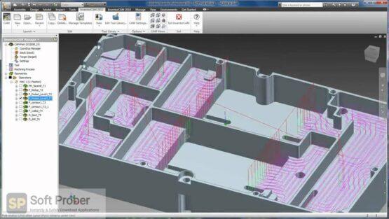 InventorCAM 2020 SP1 HF1 for Autodesk Inventor 2018 2021 Latest Version Download-Softprober.com
