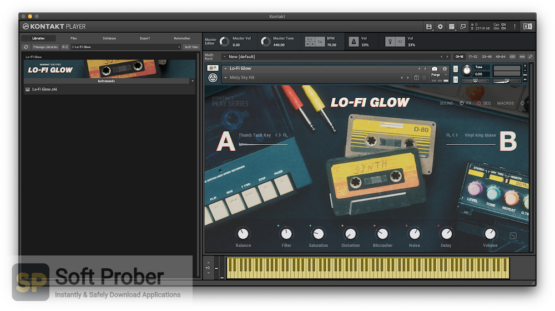 Native Instruments LoFi Glow Direct Link Download-Softprober.com