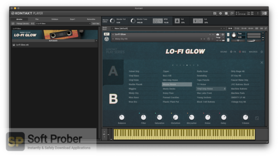 Native Instruments LoFi Glow Latest Version Download-Softprober.com