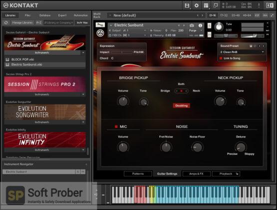 Native Instruments Session Guitarist Electric Sunburst Deluxe Direct Link Download-Softprober.com