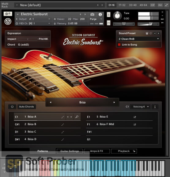 Native Instruments Session Guitarist Electric Sunburst Deluxe Offline Installer Download-Softprober.com
