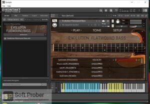 Orange Tree Samples Evolution Flatwound Bass (KONTAKT) Offline Installer Download-Softprober.com