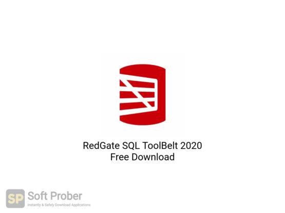 RedGate SQL ToolBelt 2020 Free Download-Softprober.com