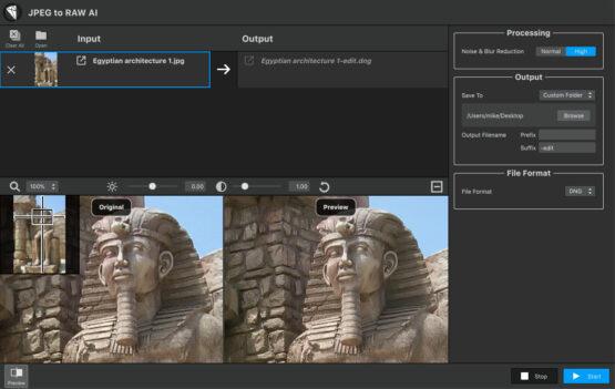 Topaz JPEG to RAW AI 2020 Offline Installer Download