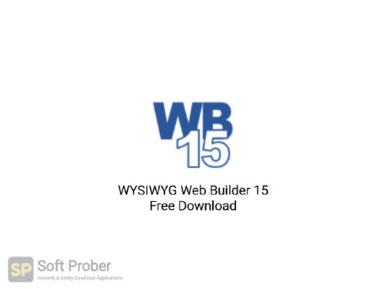 WYSIWYG Web Builder 15 Free Download-Softprober.com