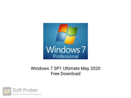 Windows 7 SP1 Ultimate May 2020 Free Download-Softprober.com