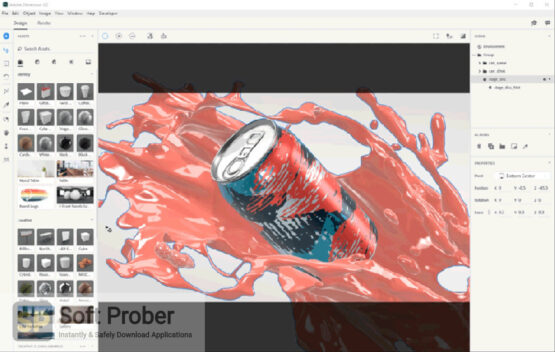Adobe Dimension 2020 Direct Link Download-Softprober.com