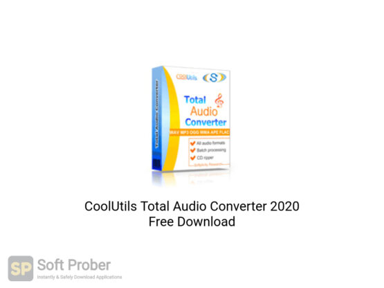 CoolUtils Total Audio Converter 2020 Offline Installer Download-Softprober.com