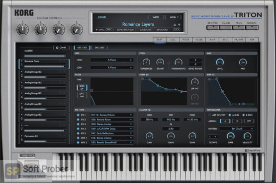 KORG–TRITON VST Free Download-Softprober.com