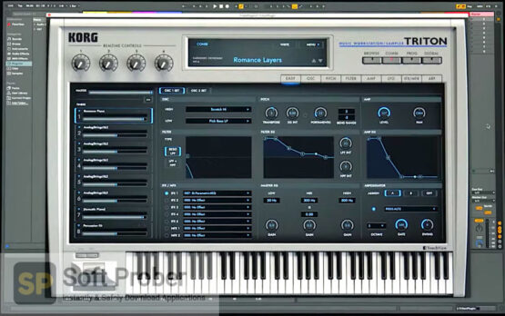 KORG–TRITON VST Latest Download-Softprober.com