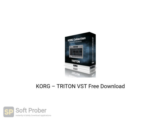 KORG–TRITON VST Offline Installer Download-Softprober.com